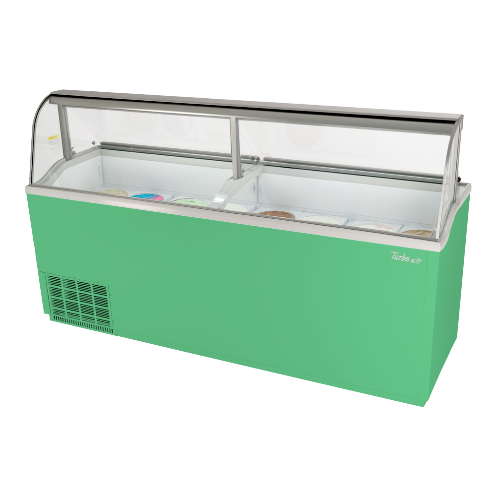 Turbo Air TIDC-91G-N display case, dipping ice cream