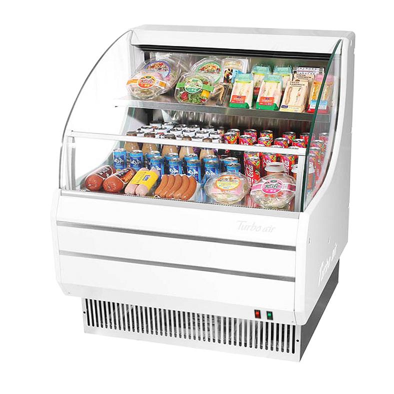 Turbo Air TOM-30LW-N merchandiser, open refrigerated display