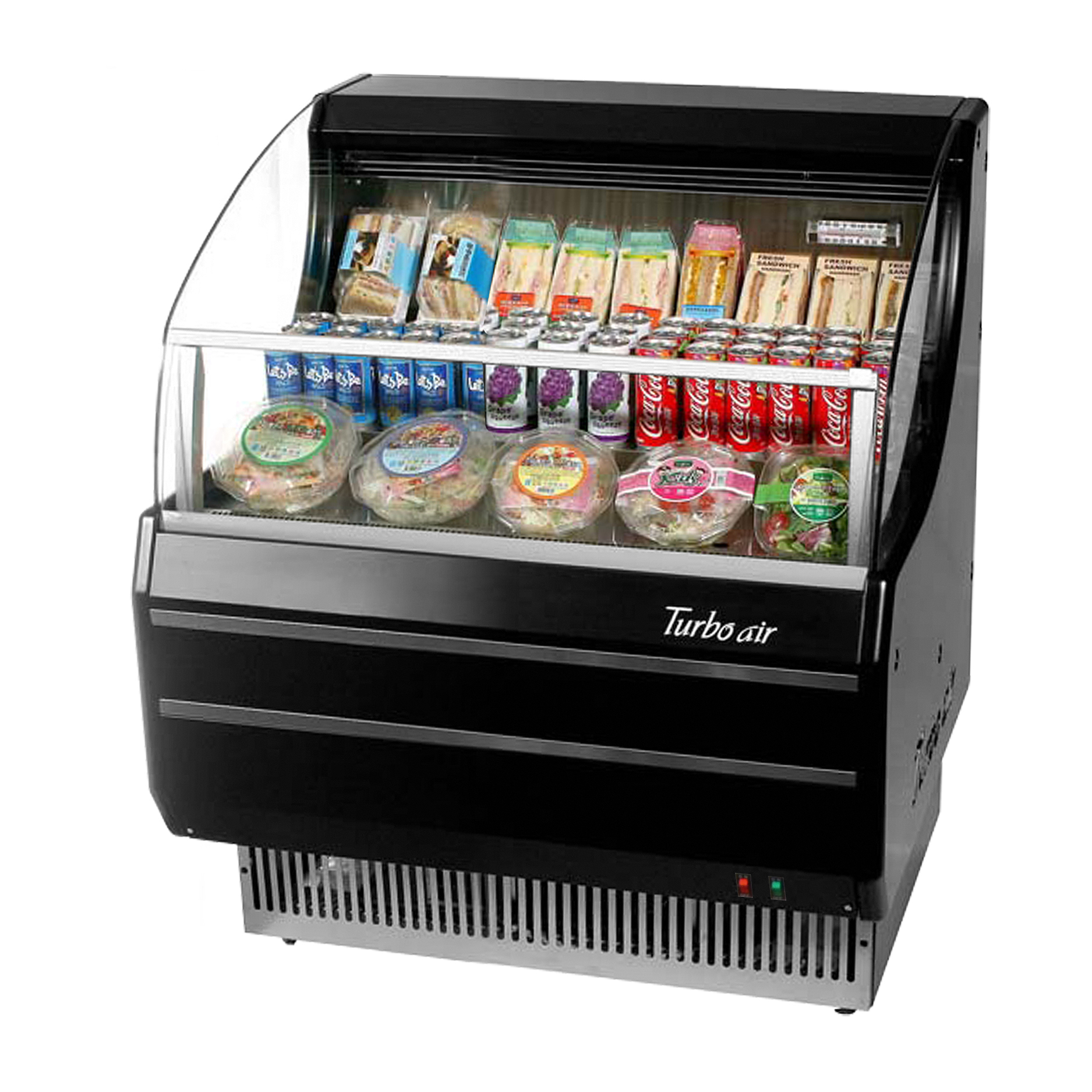 Turbo Air TOM-30SW(B)-N merchandiser, open refrigerated display