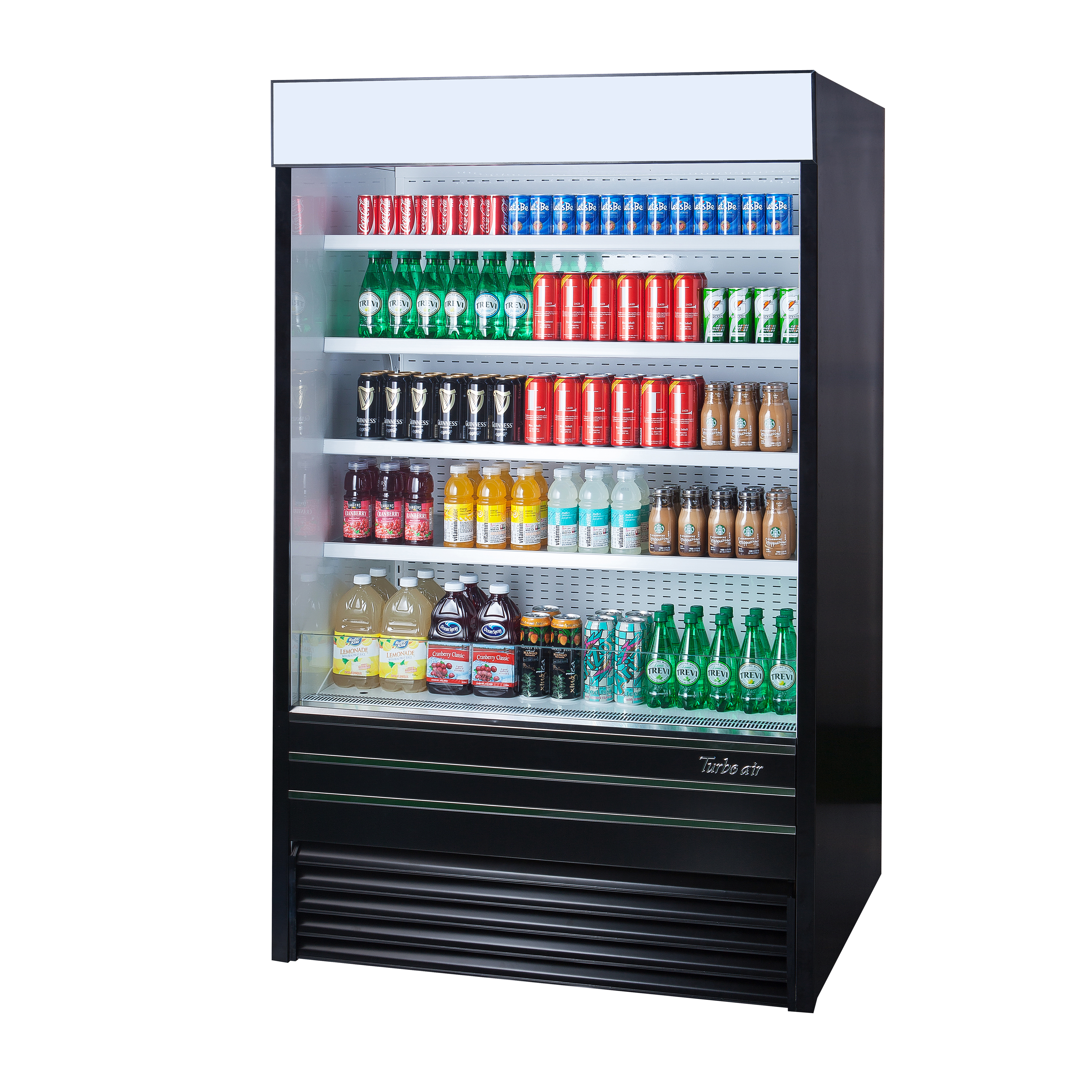 Turbo Air TOM-36EB-N merchandiser, open refrigerated display