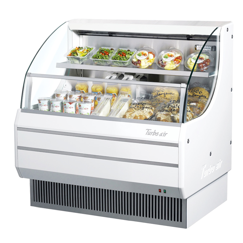 Turbo Air TOM-40LW-N merchandiser, open refrigerated display