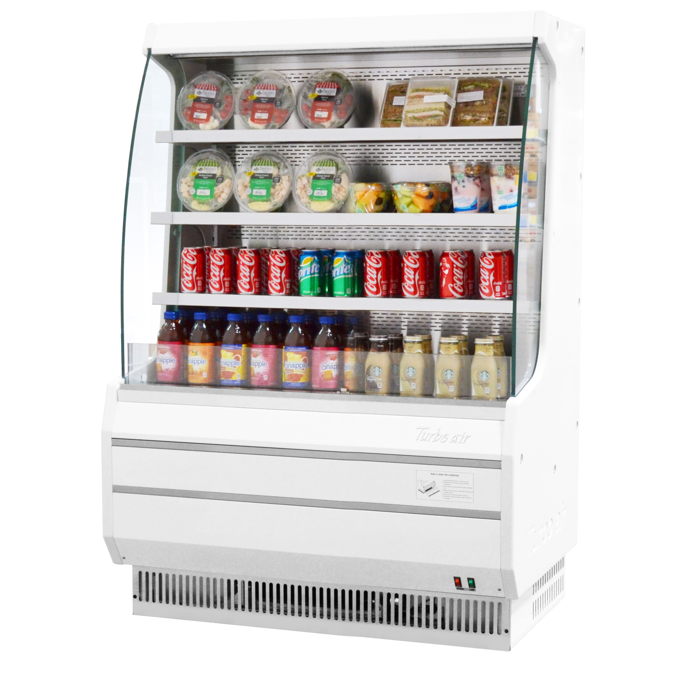 Turbo Air TOM-40MW-N merchandiser, open refrigerated display