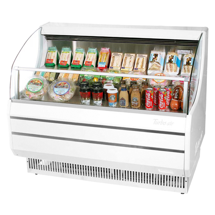 Turbo Air TOM-40SW-N merchandiser, open refrigerated display