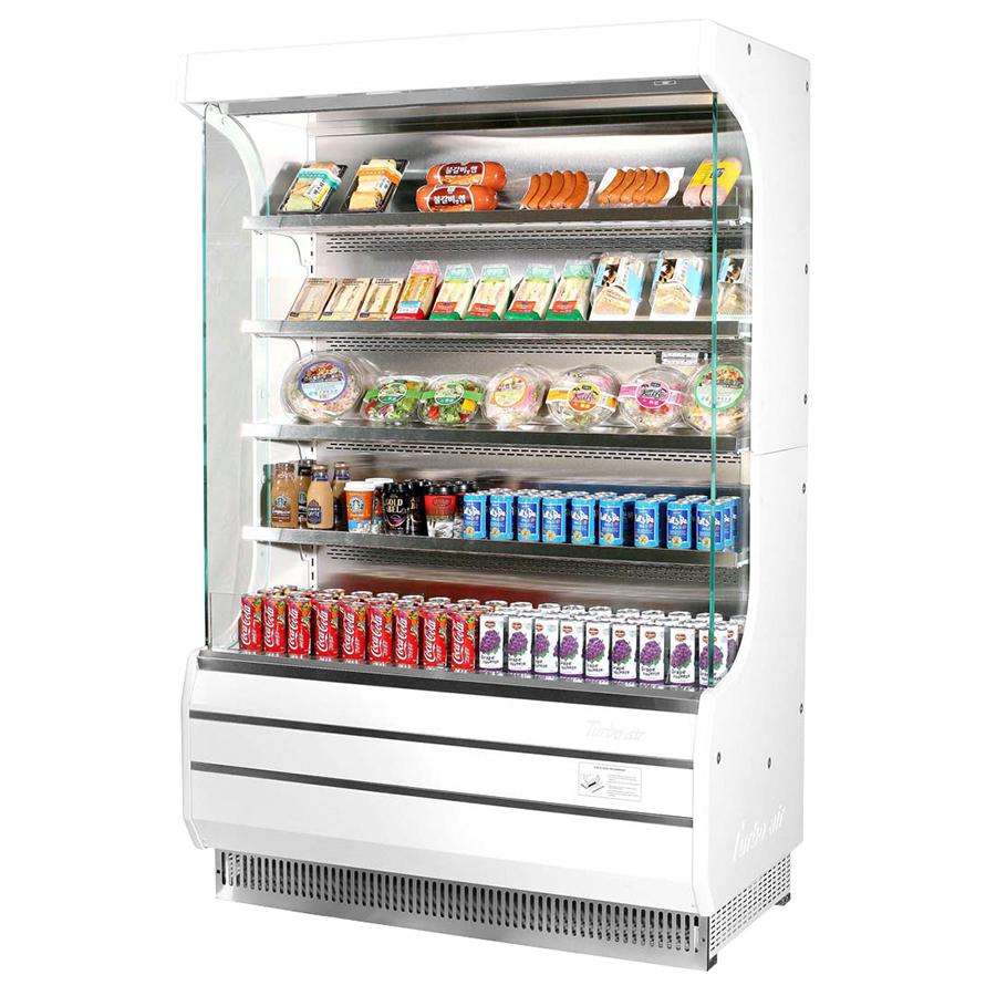 Turbo Air TOM-40W-N merchandiser, open refrigerated display