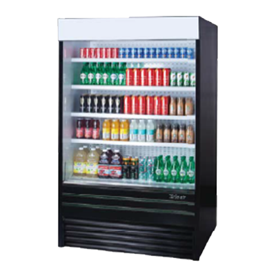 Turbo Air TOM-48EB-N merchandiser, open refrigerated display