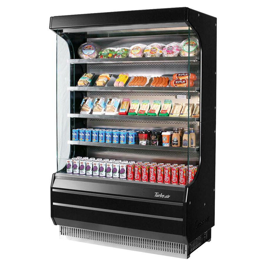 Turbo Air TOM-50B-N merchandiser, open refrigerated display