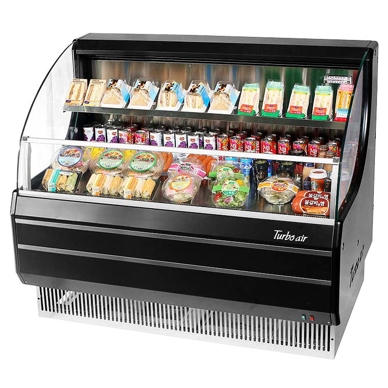 TOM-50LB-N Turbo Air merchandiser, open refrigerated display