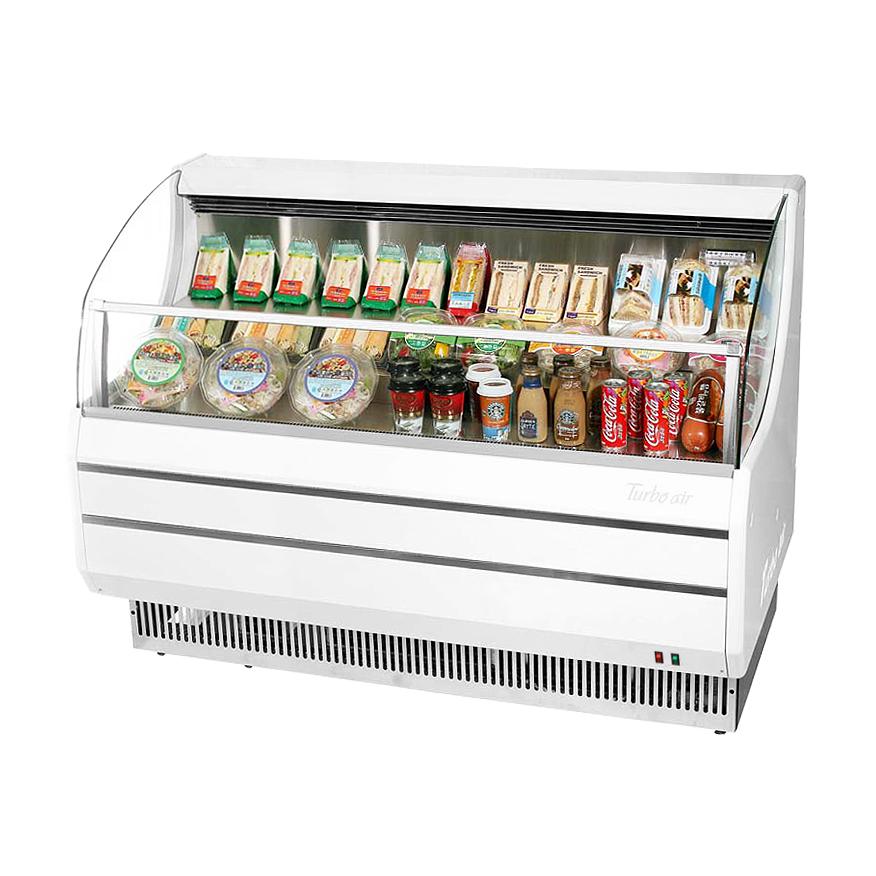 Turbo Air TOM-50SW-N merchandiser, open refrigerated display