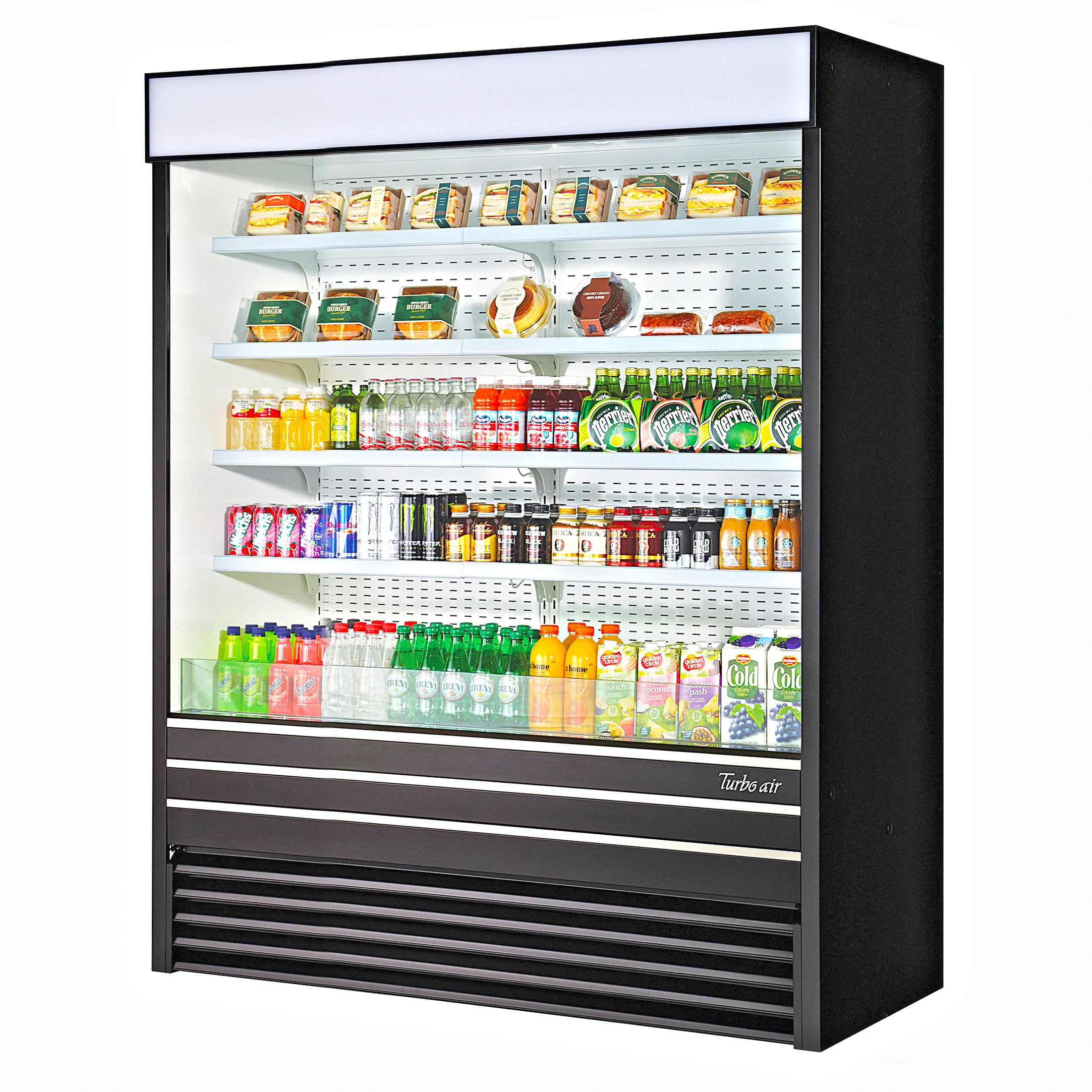 Turbo Air TOM-60EB-N merchandiser, open refrigerated display