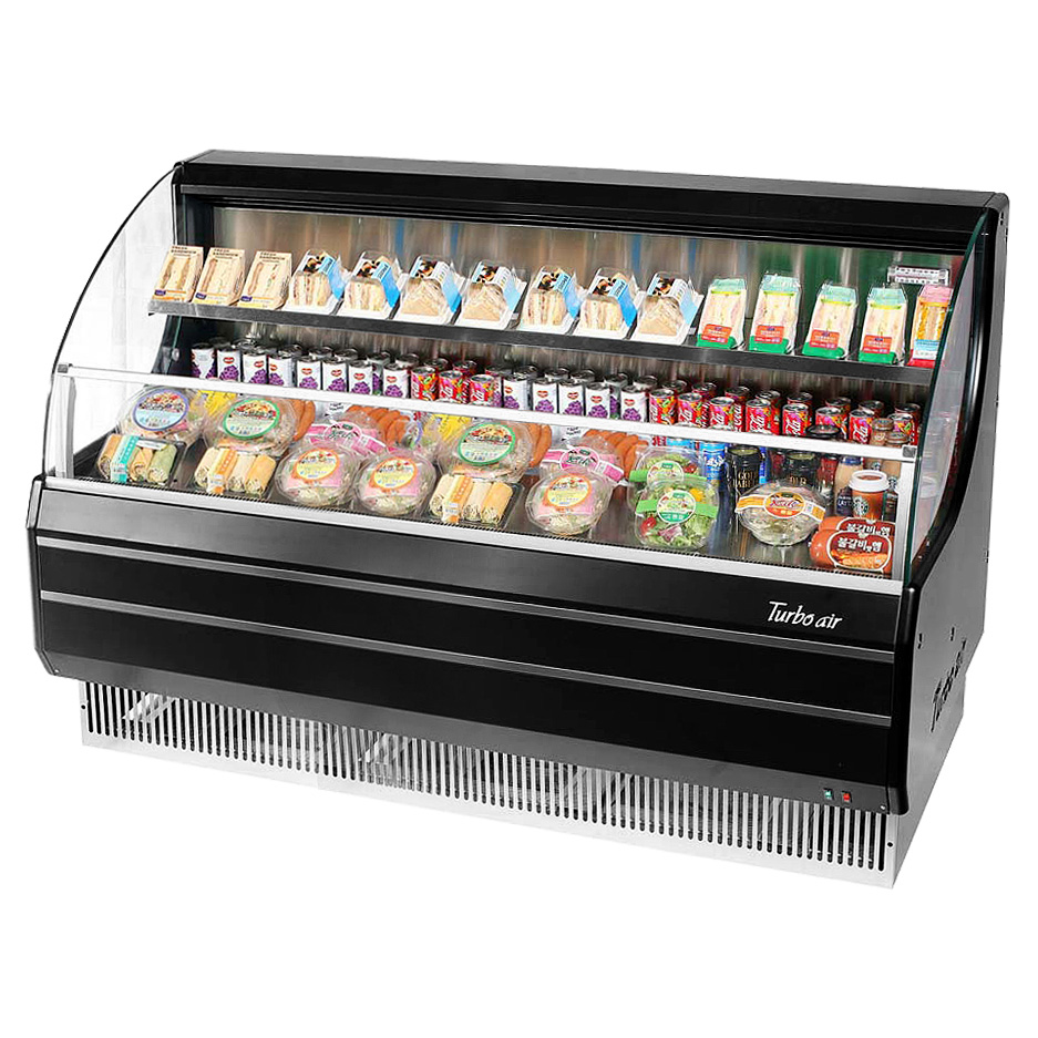 Turbo Air TOM-60LB-N merchandiser, open refrigerated display