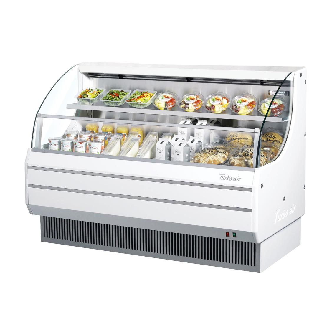 Turbo Air TOM-60LW-N merchandiser, open refrigerated display