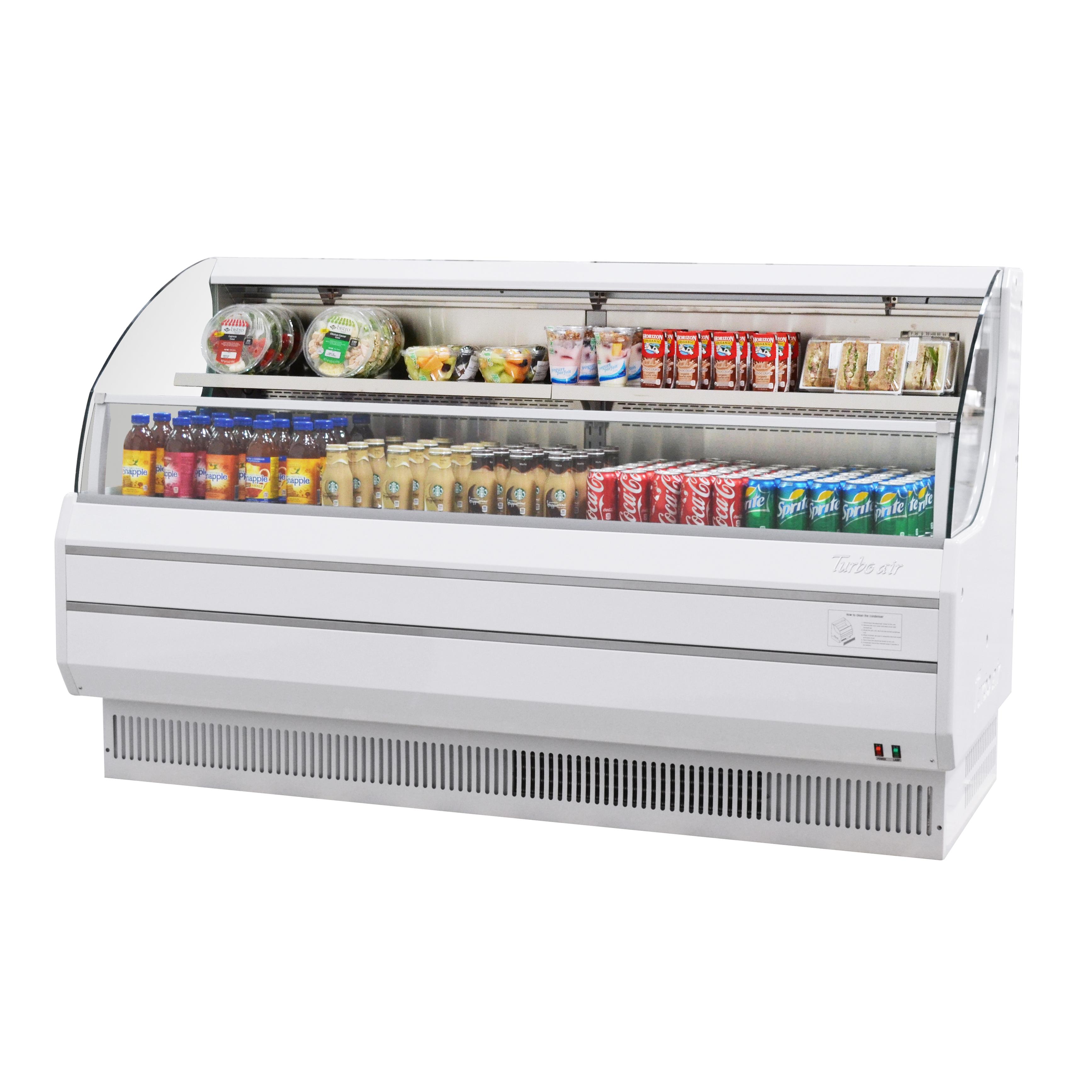 Turbo Air TOM-75LW-N merchandiser, open refrigerated display