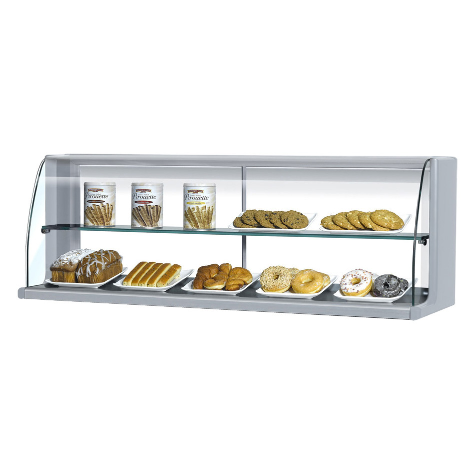 Turbo Air TOMD-40HS display case, non-refrigerated countertop
