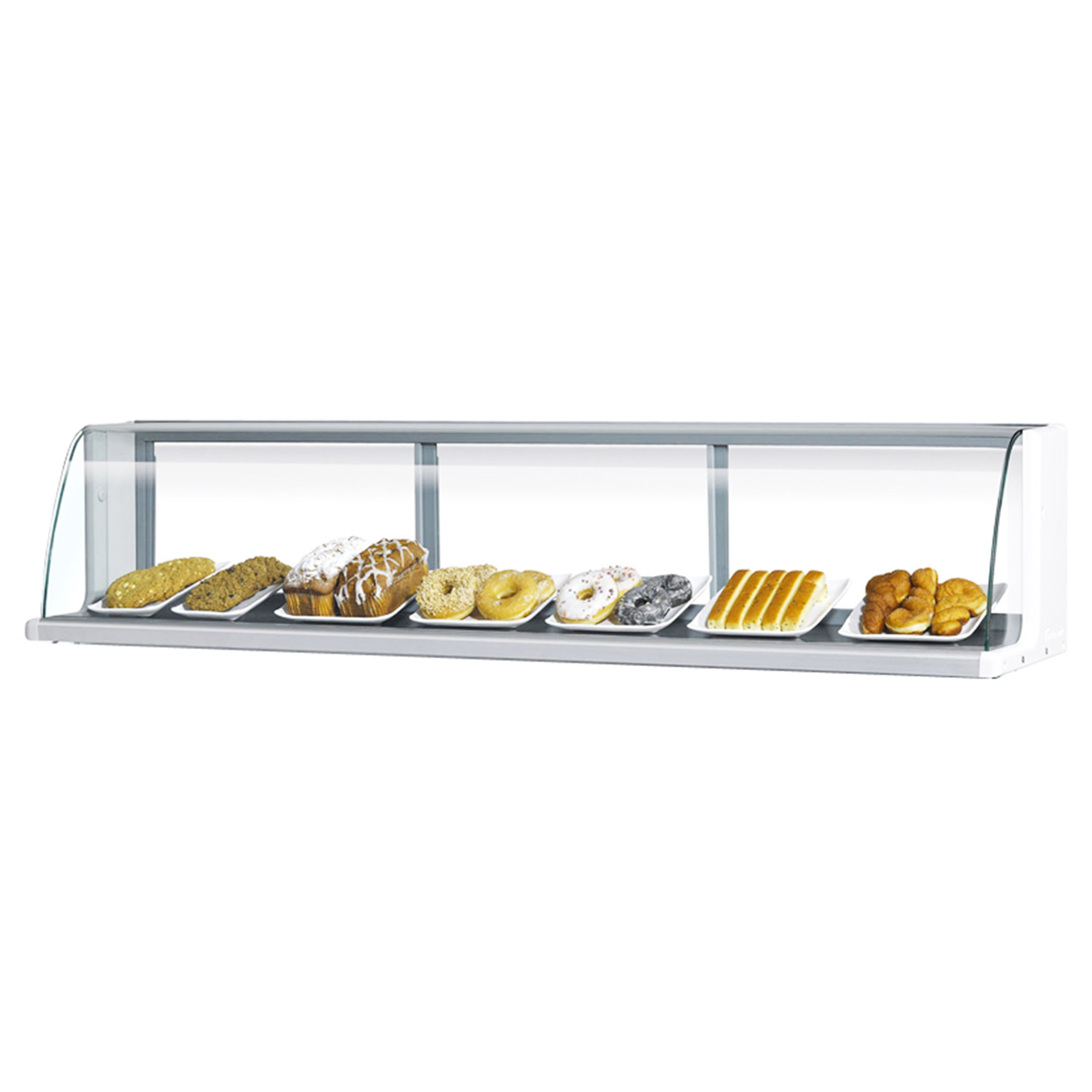 Turbo Air TOMD-40LW(B) display case, non-refrigerated countertop