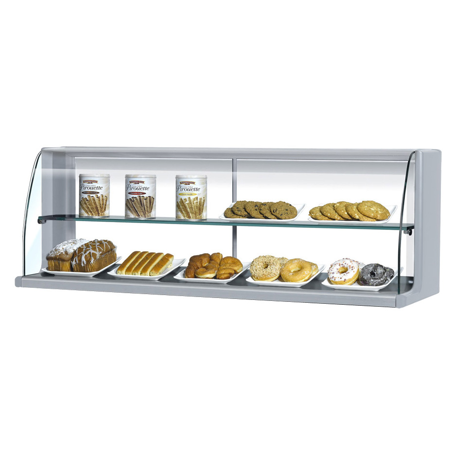 Turbo Air TOMD-60HS display case, non-refrigerated countertop