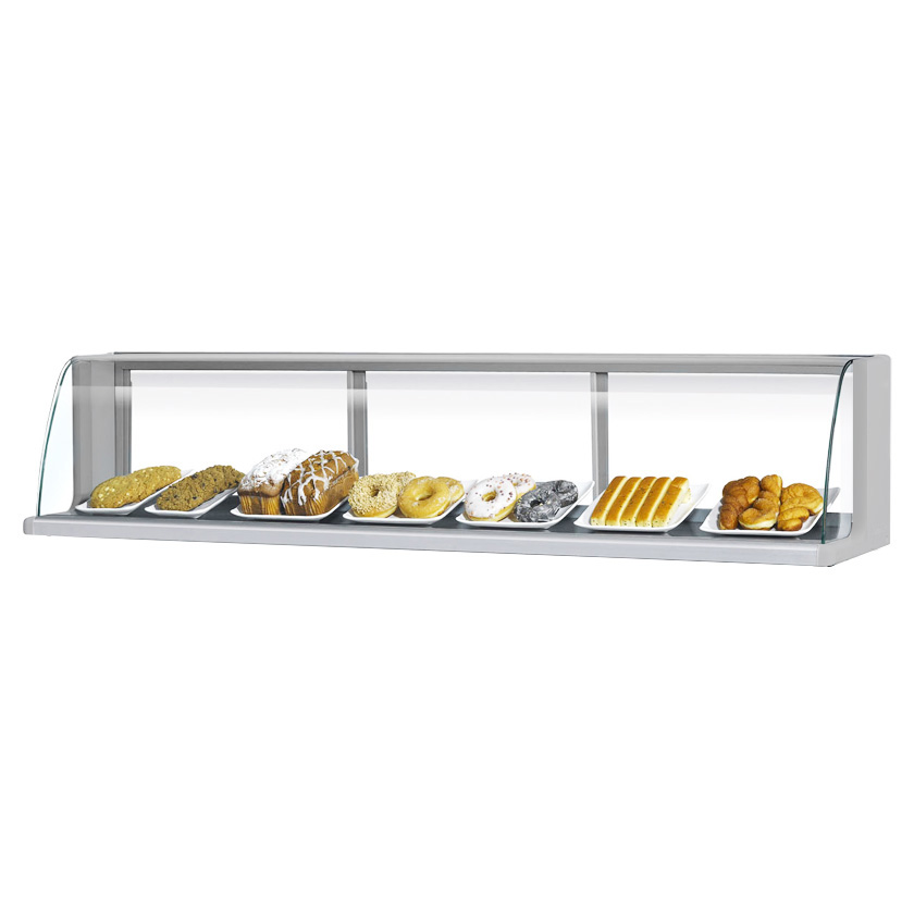 Turbo Air TOMD-60LS display case, non-refrigerated countertop
