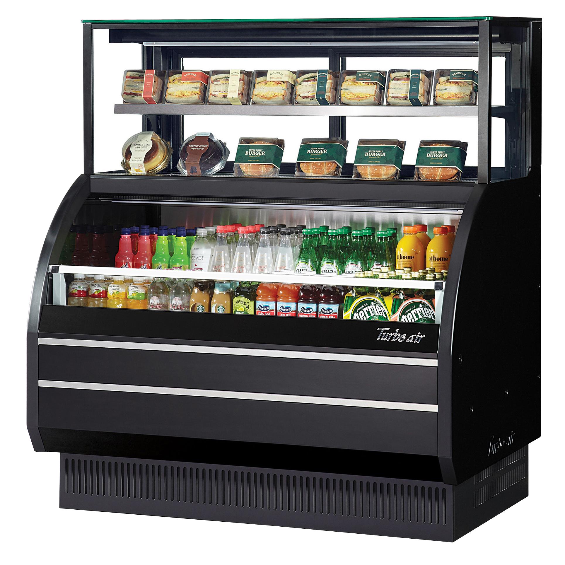 Turbo Air TOM-W-50SB-UF-N merchandiser, open refrigerated display