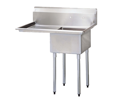 Turbo Air TSA-1-L1 sink, (1) one compartment
