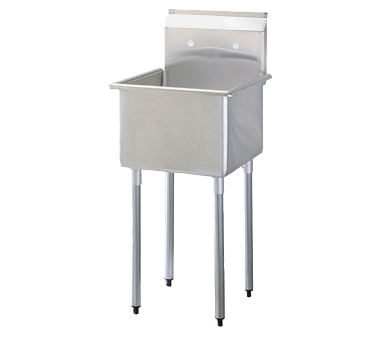Turbo Air TSA-1-N sink, (1) one compartment
