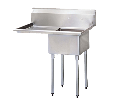 Turbo Air TSB-1-L2 sink, (1) one compartment