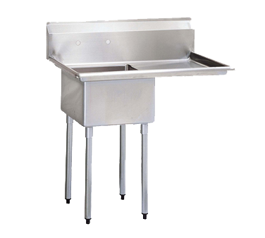 Turbo Air TSB-1-R2 sink, (1) one compartment