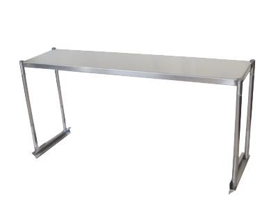 Turbo Air TSOS-P4 overshelf, table-mounted