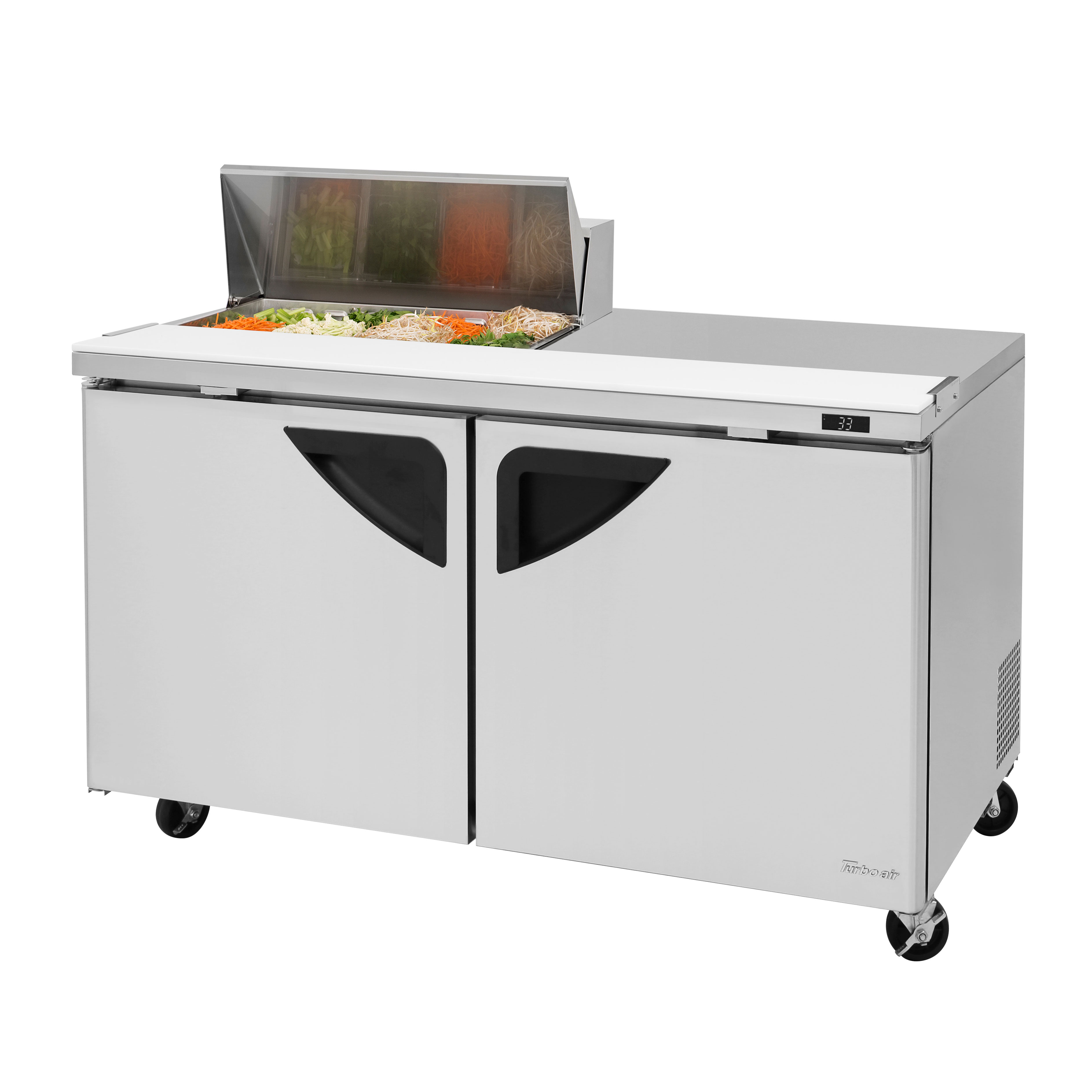 Turbo Air TST-60SD-08S-N refrigerated counter, sandwich / salad unit