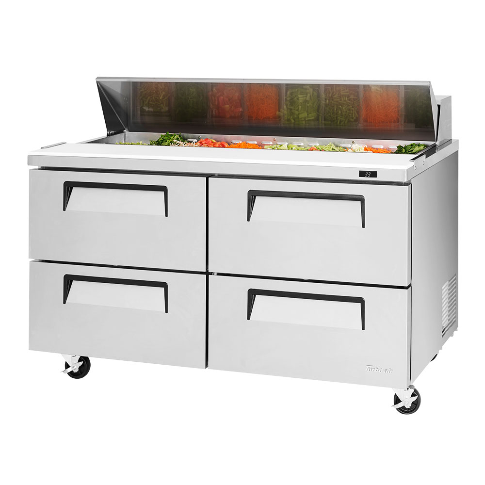 Turbo Air TST-60SD-D4-N refrigerated counter, sandwich / salad unit