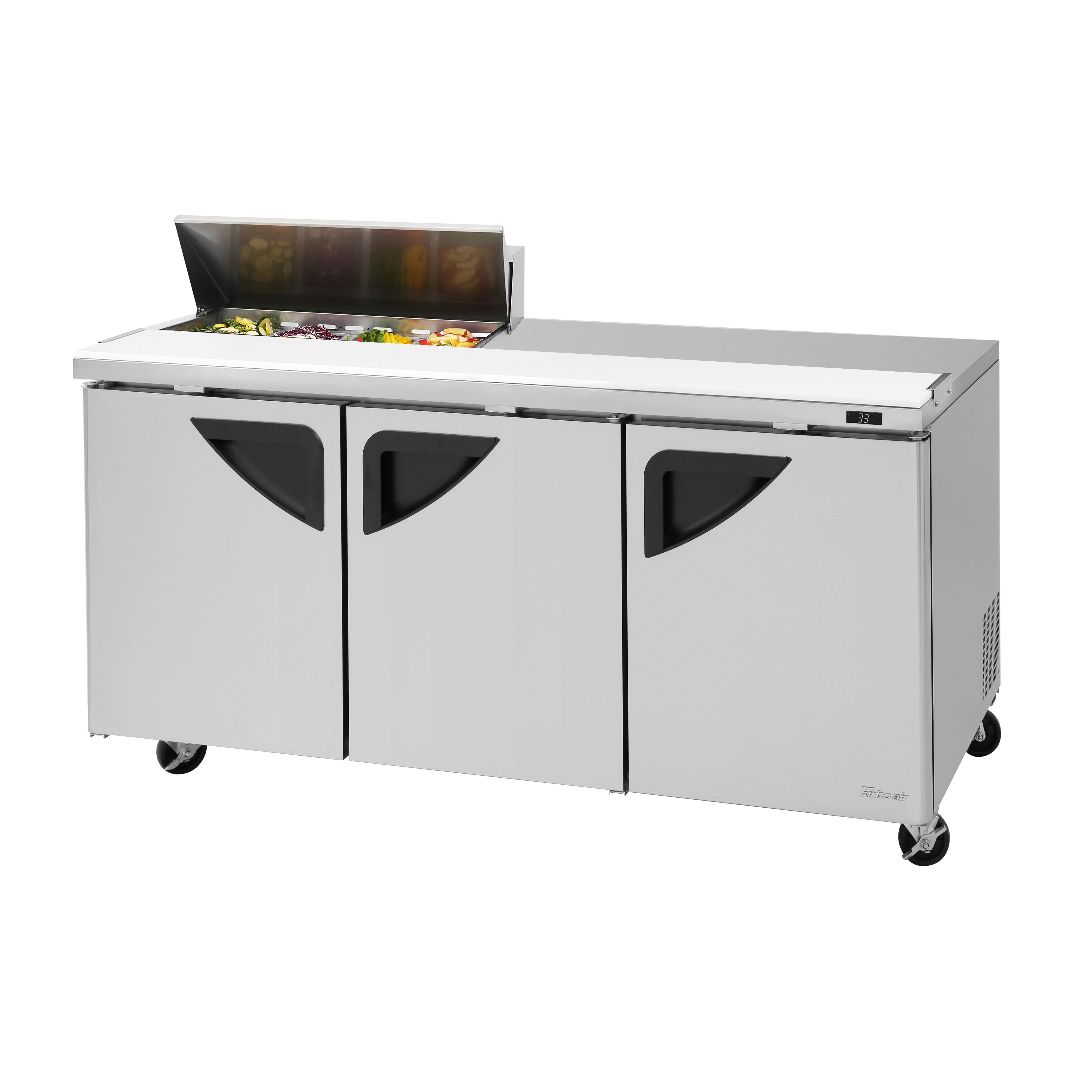 Turbo Air TST-72SD-08S-N refrigerated counter, sandwich / salad unit