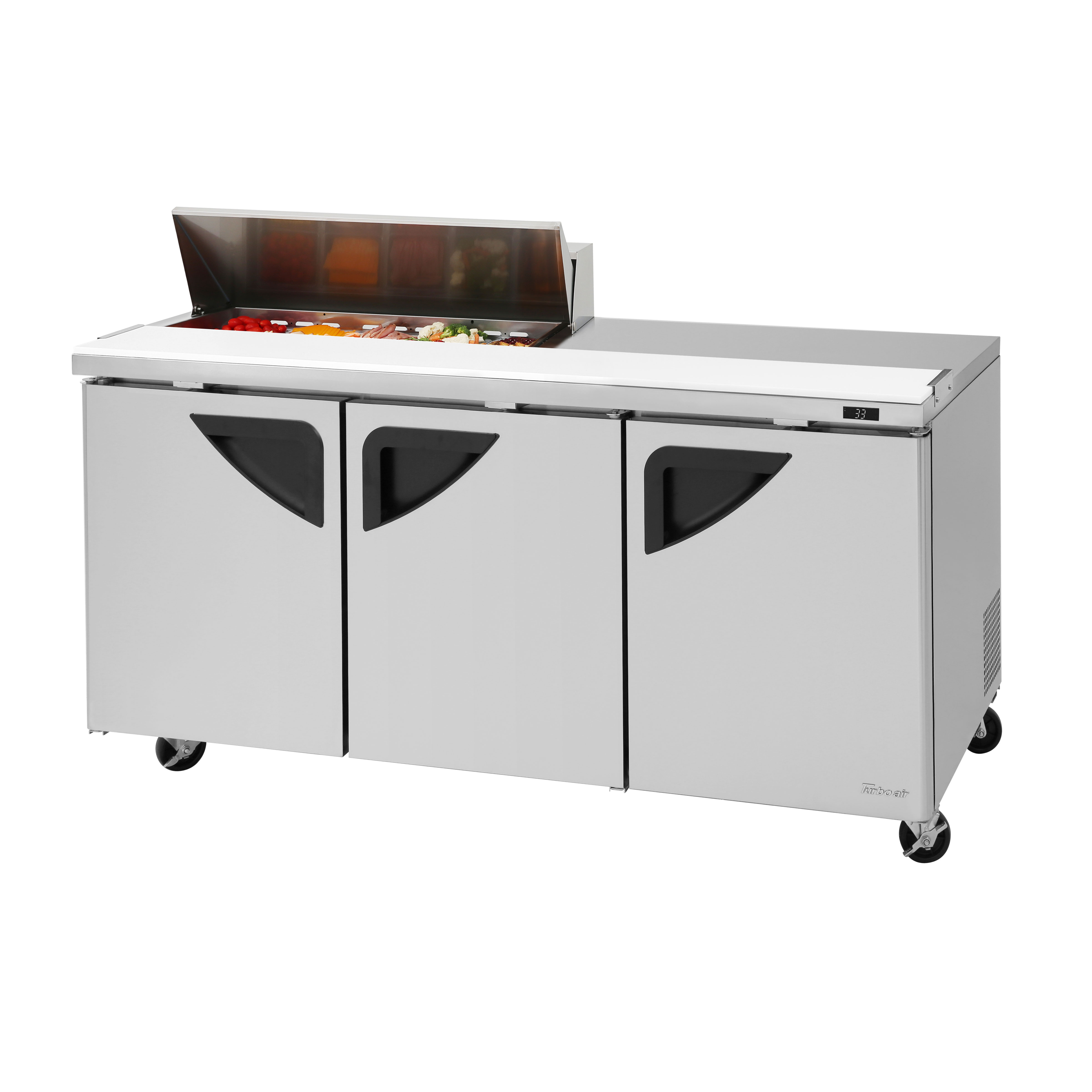 Turbo Air TST-72SD-10S-N refrigerated counter, sandwich / salad unit