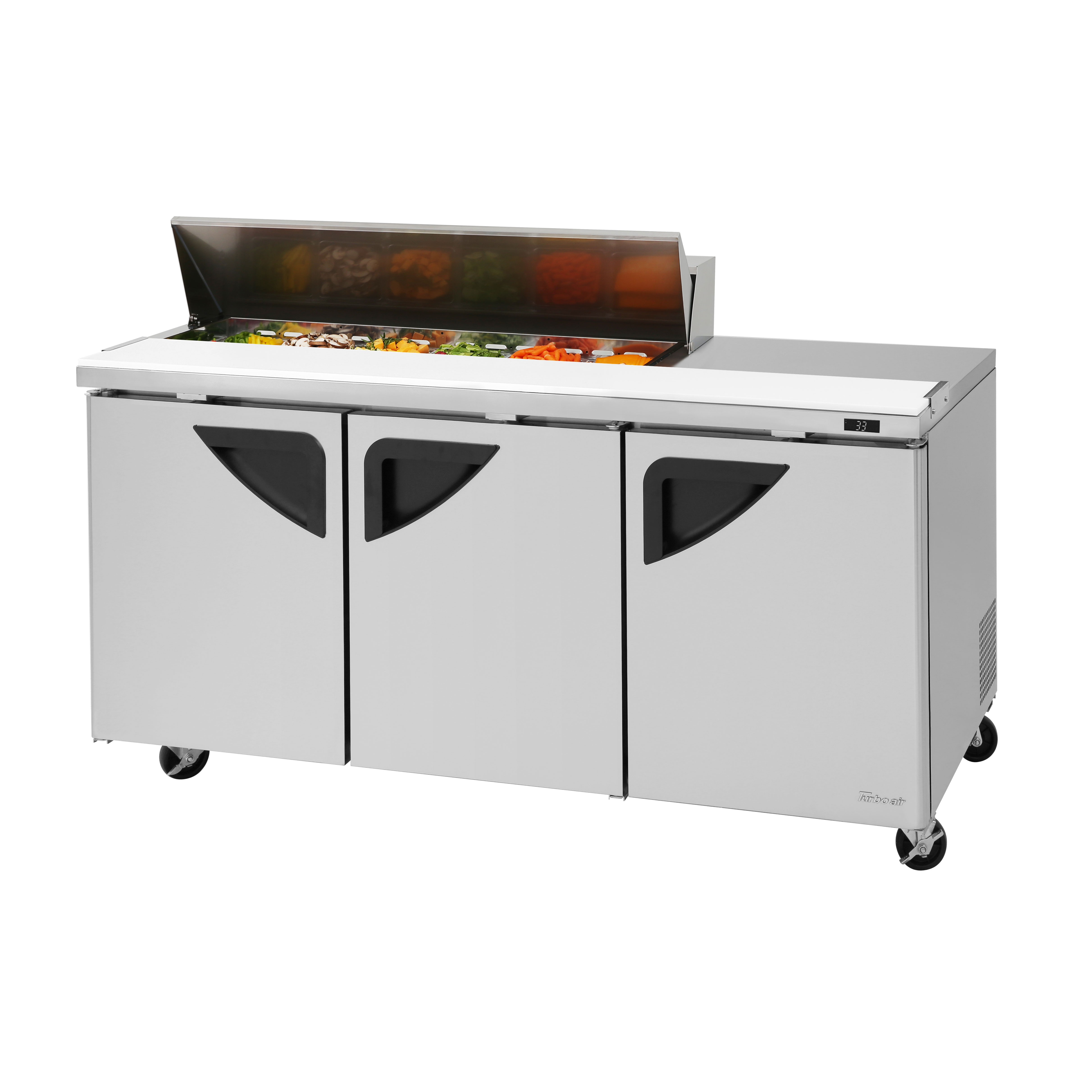 Turbo Air TST-72SD-12S-N refrigerated counter, sandwich / salad unit