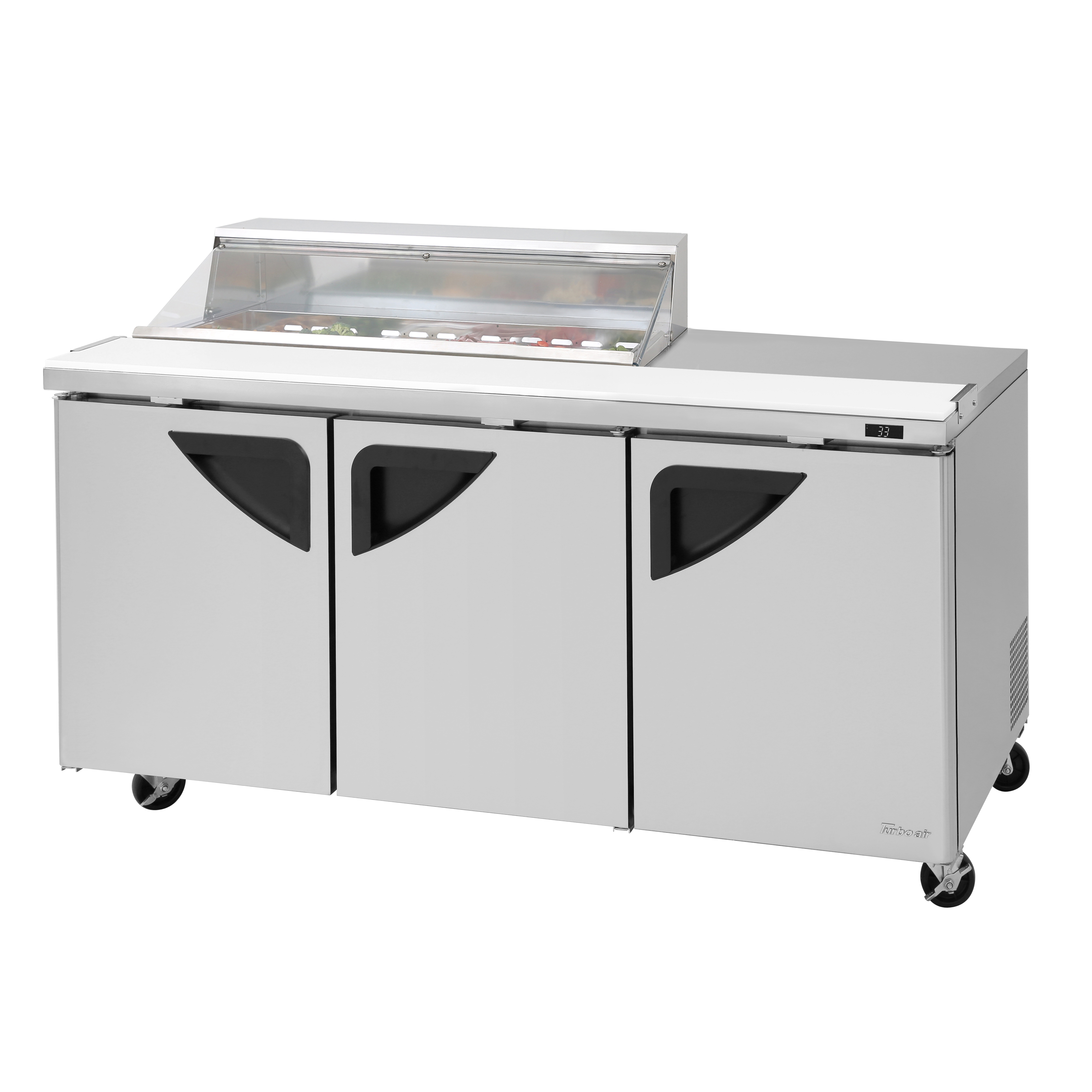 Turbo Air TST-72SD-12S-N-CL refrigerated counter, sandwich / salad unit
