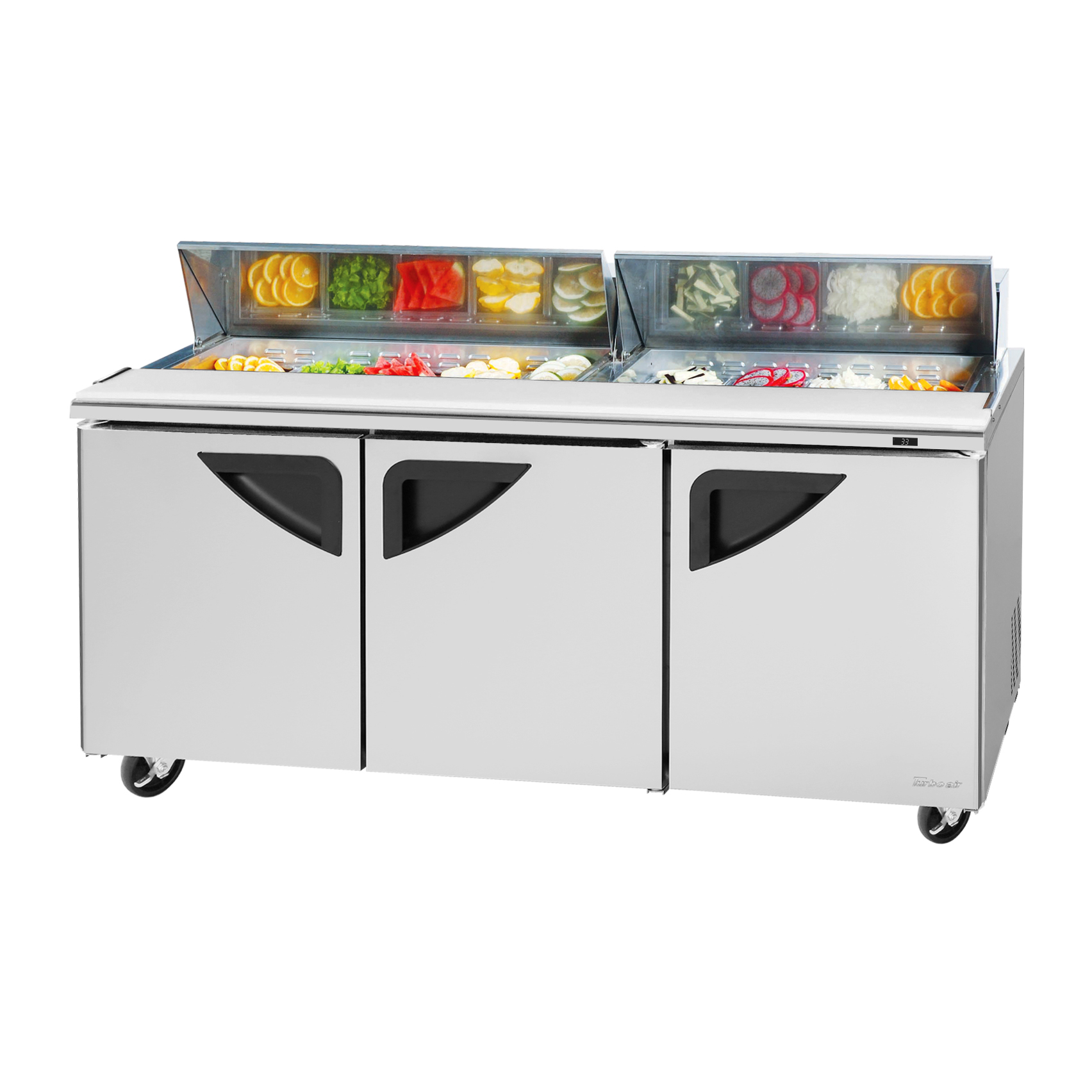 Turbo Air TST-72SD-N refrigerated counter, sandwich / salad unit