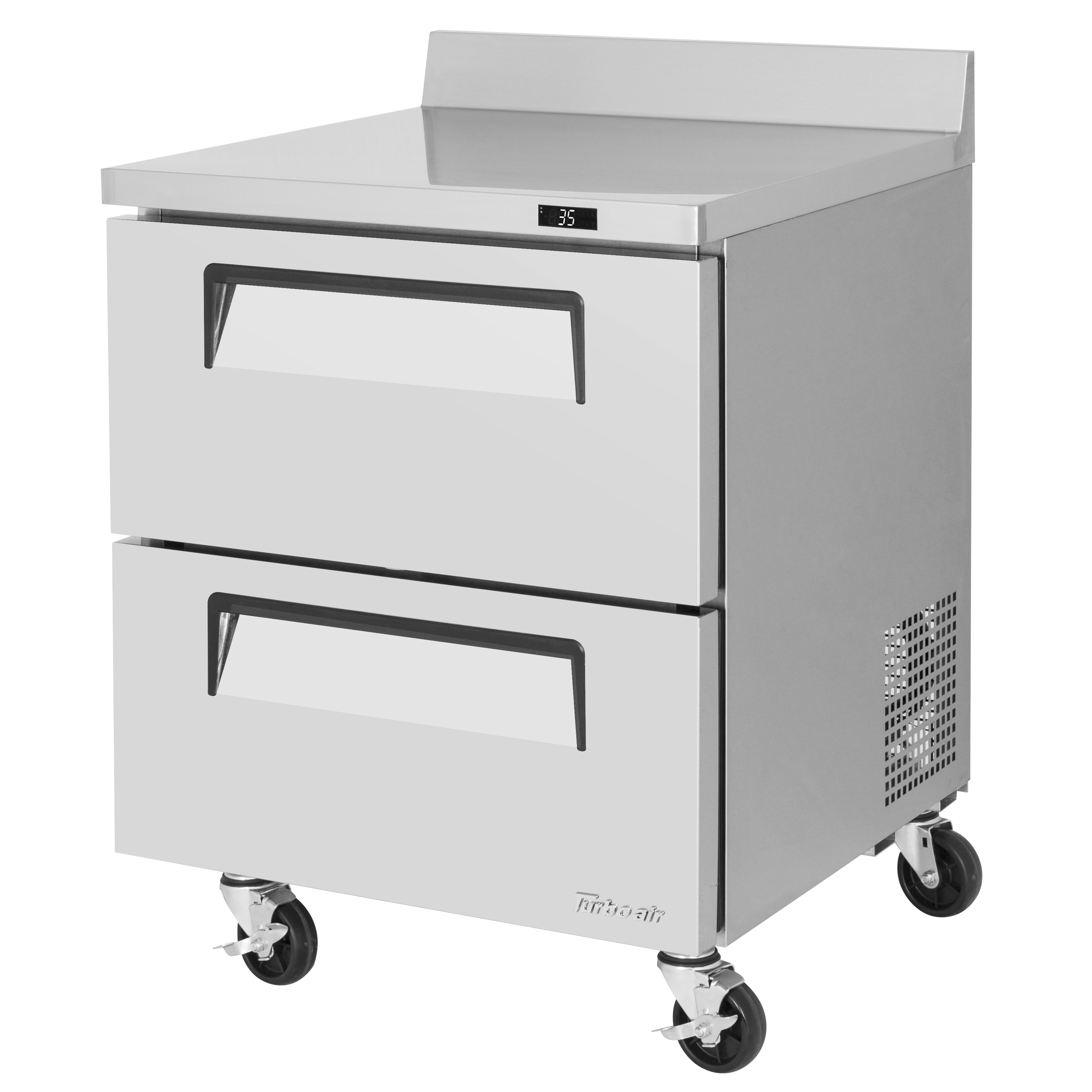 Turbo Air TWR-28SD-D2-N refrigerated counter, work top