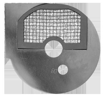 Uniworld Foodservice Equipment FP3-D8 food processor, disc plate, dicing