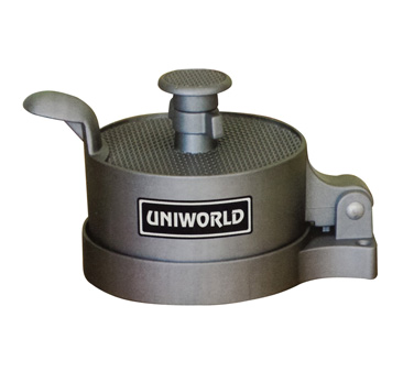 Uniworld Foodservice Equipment MBP-100 hamburger patty press, handheld