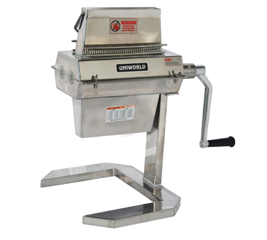 Uniworld Foodservice Equipment MTA74 meat tenderizer, manual