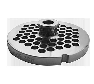 Uniworld Foodservice Equipment SS832GP3/8-H meat grinder plate