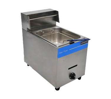Uniworld Foodservice Equipment UGF-71H fryer, gas, countertop, full pot