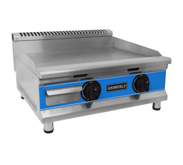 Uniworld Foodservice Equipment UGR-G24 griddle, gas, countertop