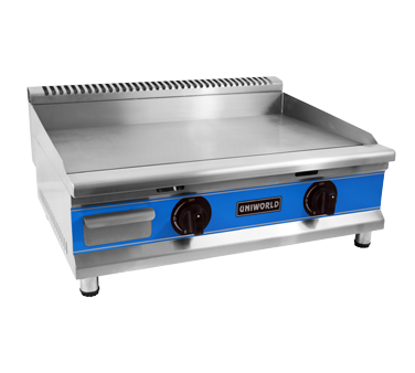 Uniworld Foodservice Equipment UGR-G30 griddle, gas, countertop