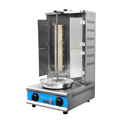 Uniworld Foodservice Equipment VBR-2SPF vertical broiler (gyro), gas