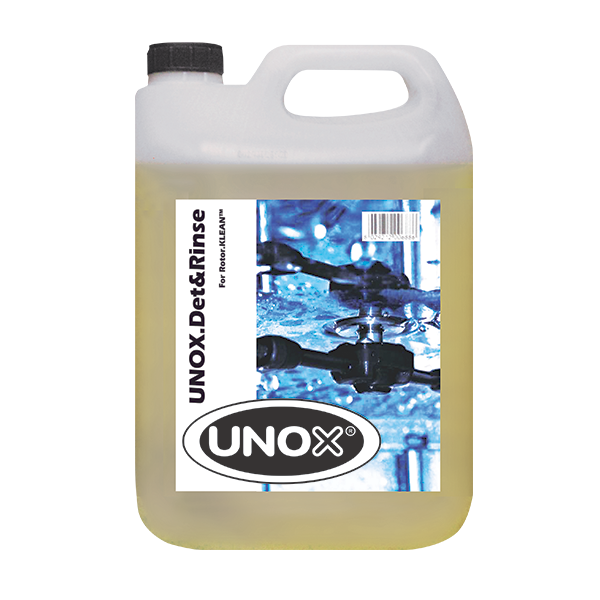 UNOX DB1012A0 chemicals: cleaner, oven