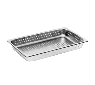 Crown Brands, LLC NJP-1002PF steam table pan, stainless steel