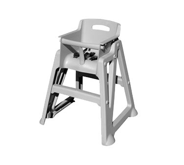 Crown Brands, LLC PP-HC/GR high chair, plastic