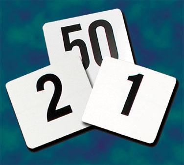 Crown Brands, LLC PTN4/1-100 table numbers cards