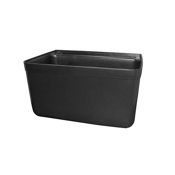 Crown Brands, LLC SB-7BK silverware bin for bus cart