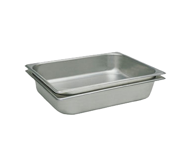 Crown Brands, LLC STP-334 steam table pan, stainless steel
