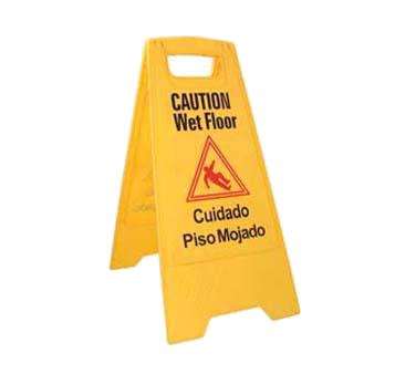 Crown Brands, LLC WFS-25 sign, wet floor