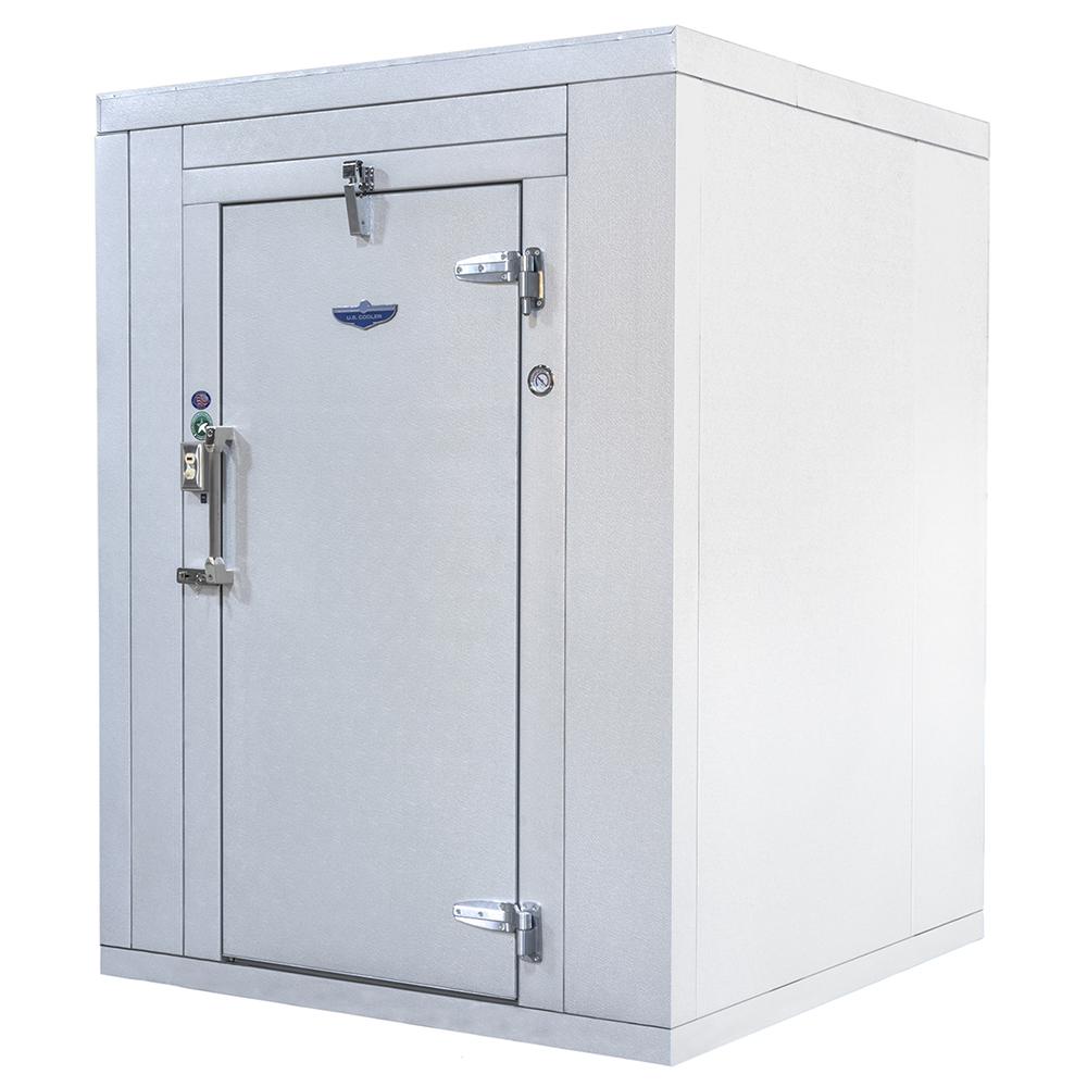 U.S. Cooler FI1010FL.PA95 walk in freezer, modular, remote